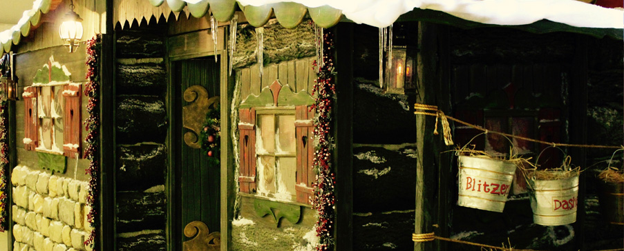 Christmas Grotto for Seasonal Hire