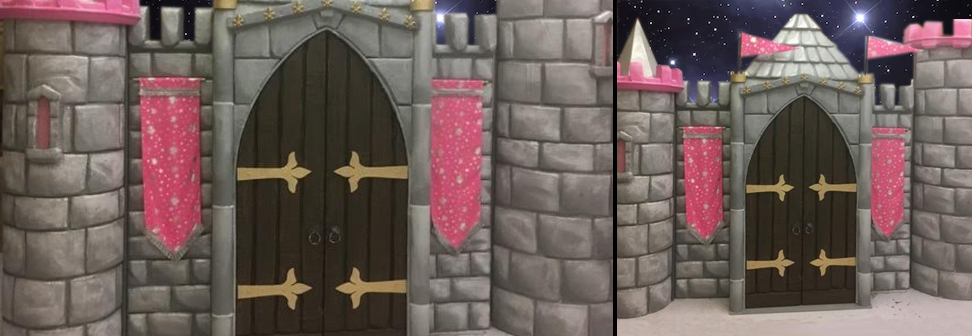 princess castle for hire